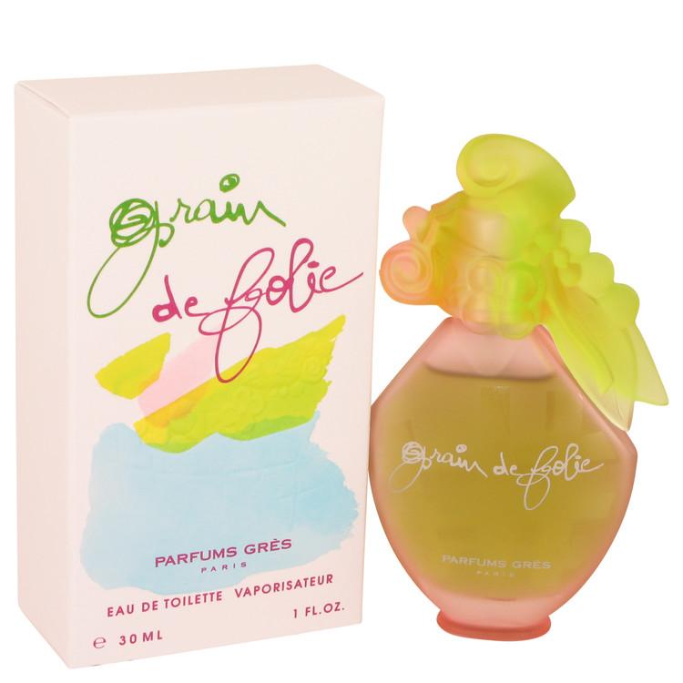 Grain De Folie Perfume by Parfums Gres 1 oz EDT Spay for Women