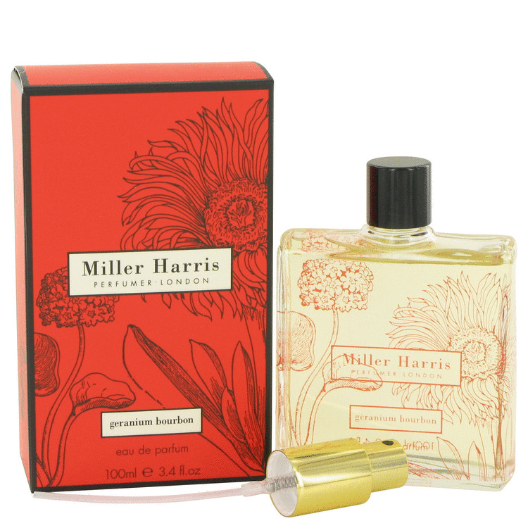 Geranium Bourbon Perfume by Miller Harris 100 ml EDP Spay for Women