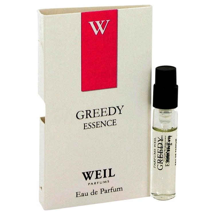 Greedy Essence by Weil for Women Vial (sample) .05 oz