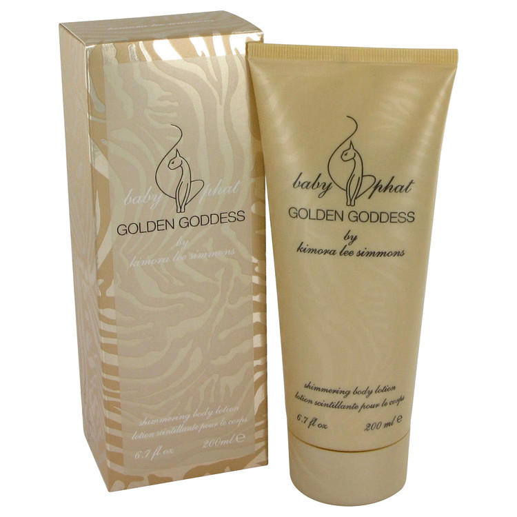 Golden Goddess Body Lotion 6.7 oz Shimmering Body Lotion for Women