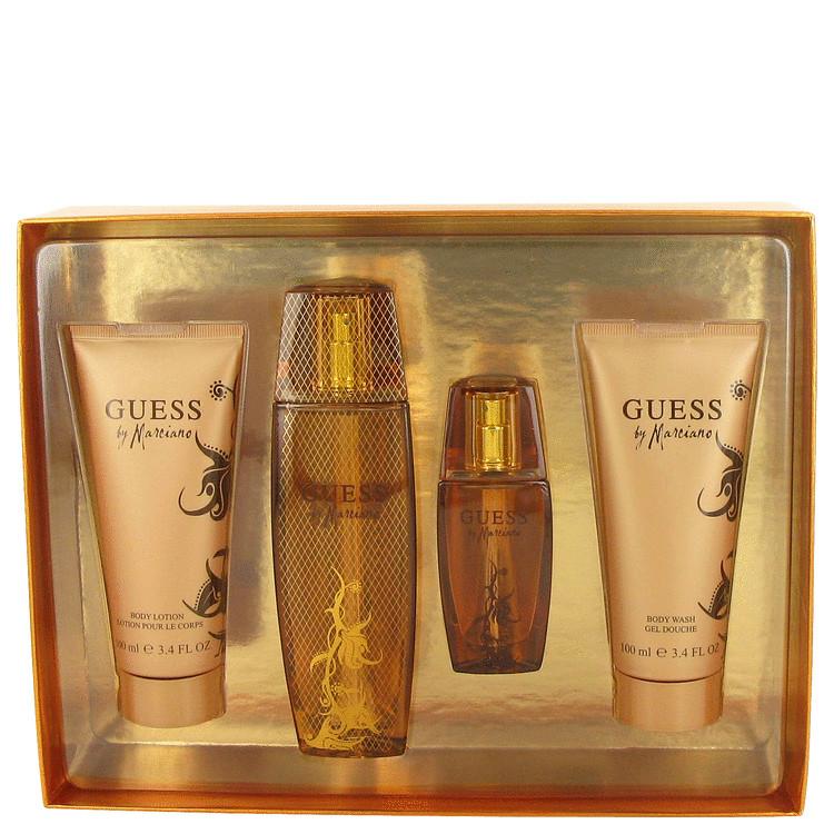 Guess Marciano for Women, Gift Set (3.4 oz EDP Spray + 3 oz Body Lotion + 3 oz Body wash + 1 oz EDP Spray)