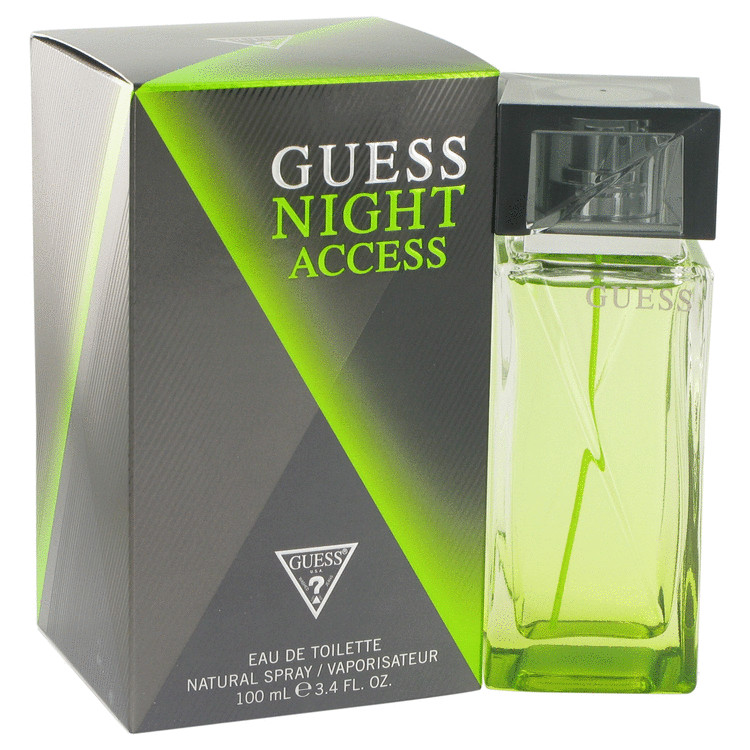 Guess Night Access Cologne by Guess 100 ml EDT Spay for Men