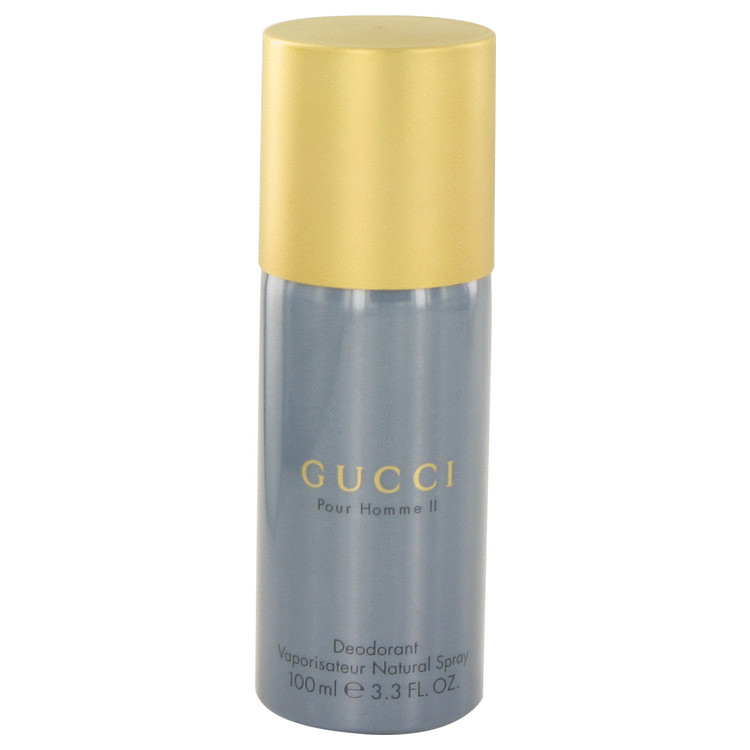Gucci Pour Homme Ii Deodorant by Gucci 3.3 oz Deodorant Spray for Men