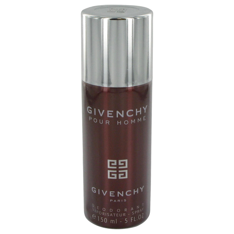 Givenchy (Purple Box) by Givenchy for Men Deodorant Spray 5 oz