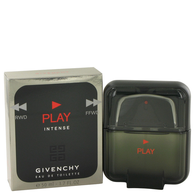 Givenchy Play Intense by Givenchy for Men Eau De Toilette Spray 1.7 oz