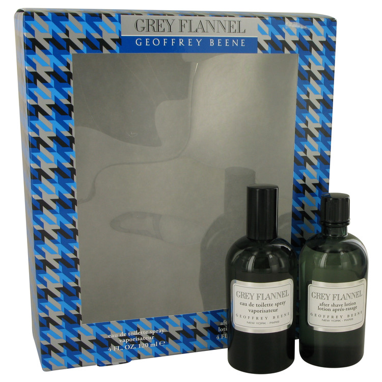 Grey Flannel Gift Set -- Gift Set - 4 oz Eau De Toilette Spray + 3.4 oz After Shave Lotion for Men