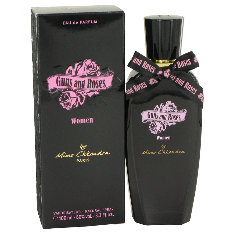 Guns and Roses by Mimo Chkoudra for Women Eau De Parfum Spray 3.3 oz