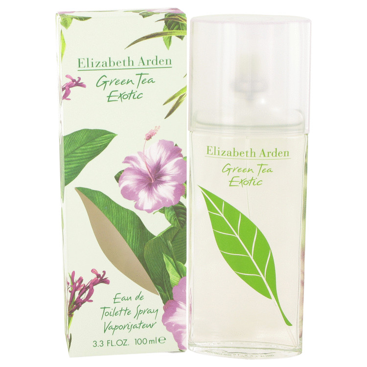Green Tea Exotic Perfume by Elizabeth Arden 100 ml EDT Spay for Women