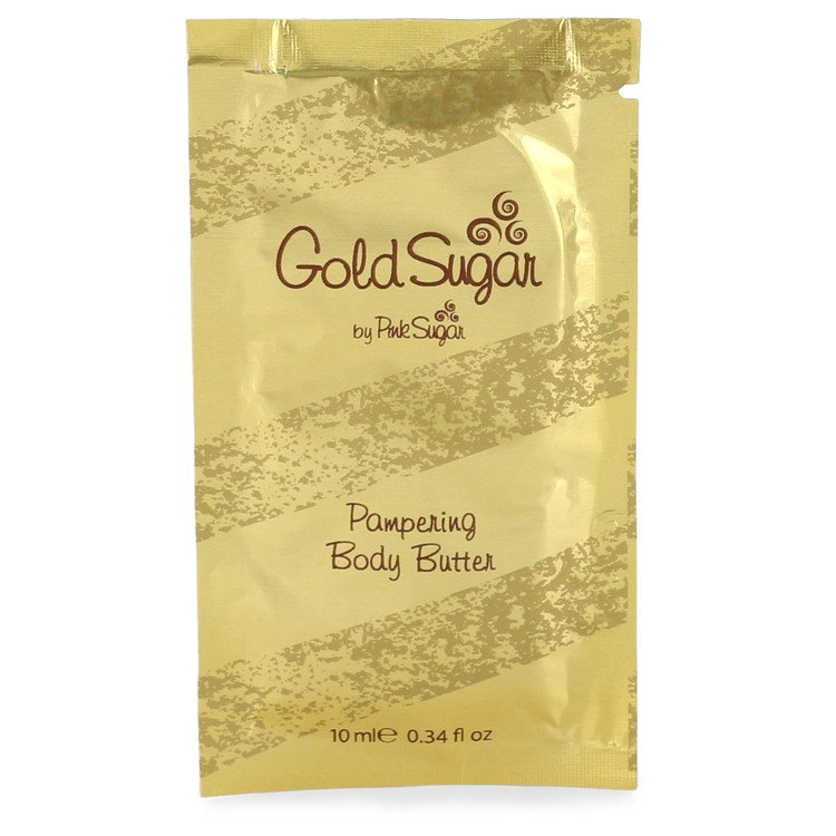 Gold Sugar Body Lotion by Aquolina .34 oz Body Butter Pouch for Women