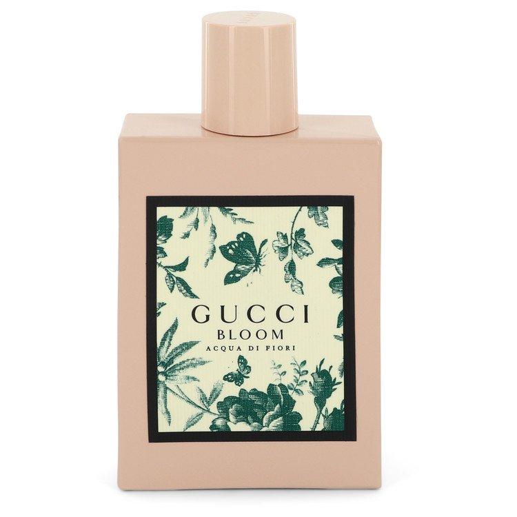 Gucci Bloom Acqua Di Fiori by Gucci –  Eau De Toilette Spray (unboxed) 3.4 oz 100 ml for Women