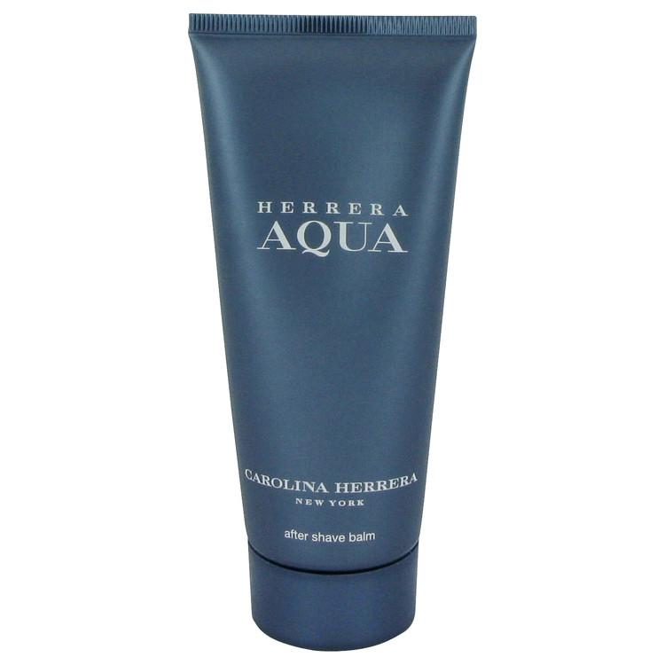 Herrera Aqua After Shave Balm 3.4 oz After Shave Balm for Men