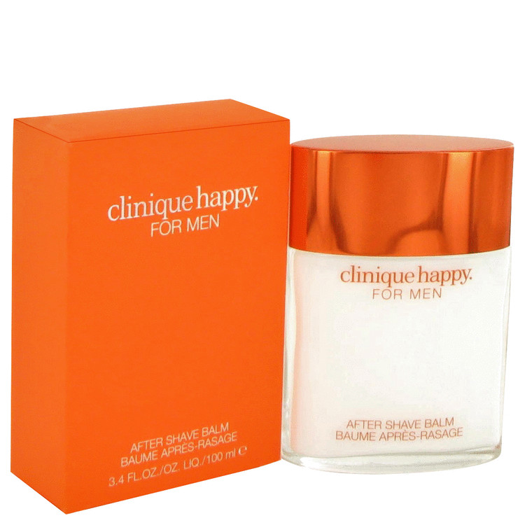 Happy After Shave Balm by Clinique 3.4 oz After Shave Balm for Men