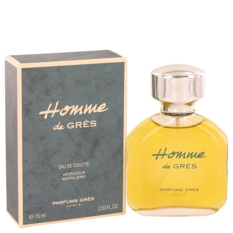 Homme De Gres Cologne by Parfums Gres 75 ml EDT Spay for Men