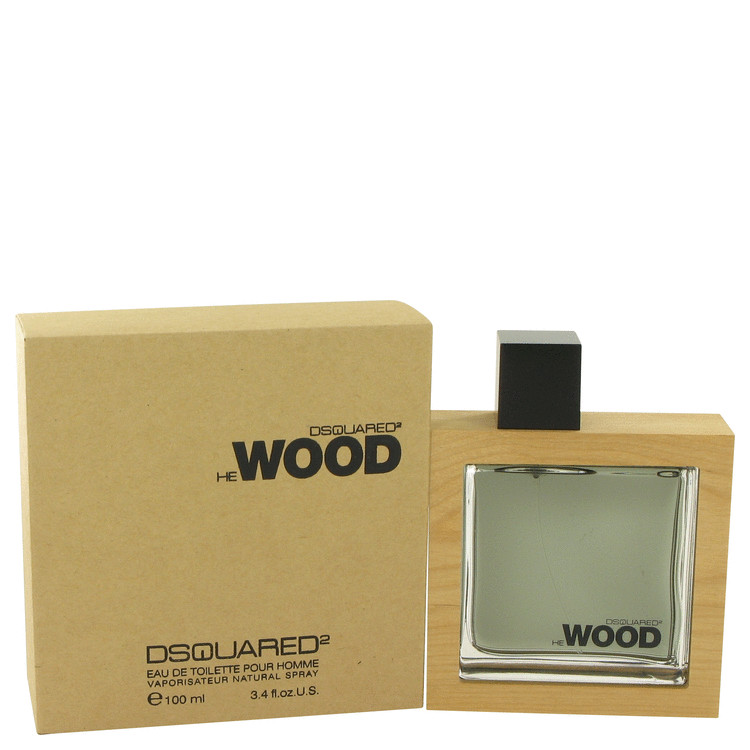 He Wood by Dsquared2 for Men Eau De Toilette Spray 3.4 oz