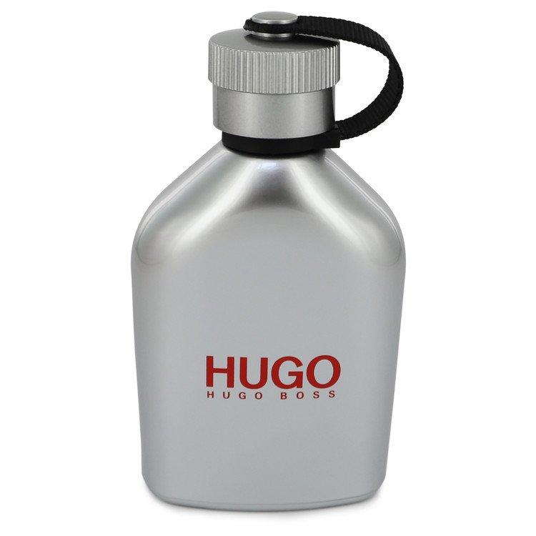Hugo Iced by Hugo Boss for Men Eau De Toilette Spray (Tester) 4.2 oz