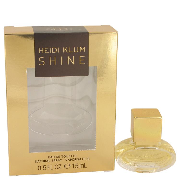 Shine by Heidi Klum for Women Eau De Toilette Spray 0.5 oz