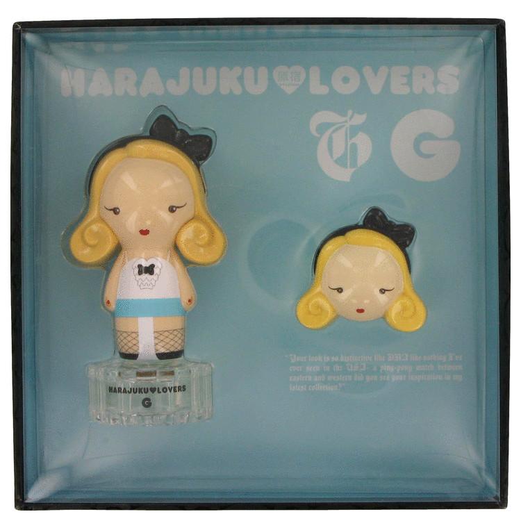 Harajuku Lovers G Gift Set -- Gift Set - 1 oz Eau De Toilette Spray + Soild Perfume for Women