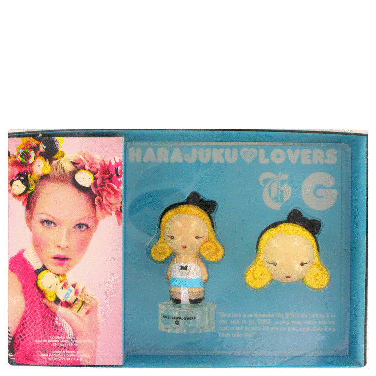 Harajuku Lovers G for Women, Gift Set (.33 oz EDT Spray + Parfum Compact)