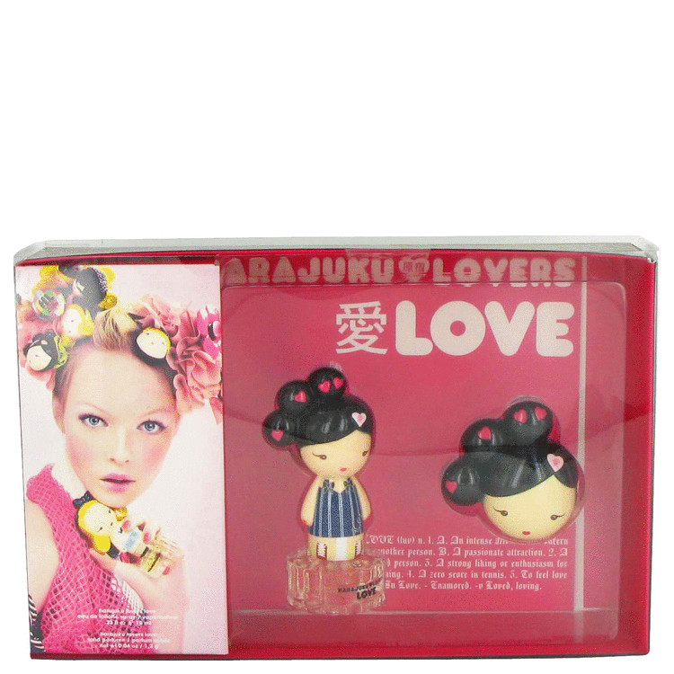 Harajuku Lovers Love for Women, Gift Set (1 oz EDT Spray + Solid Perfume)