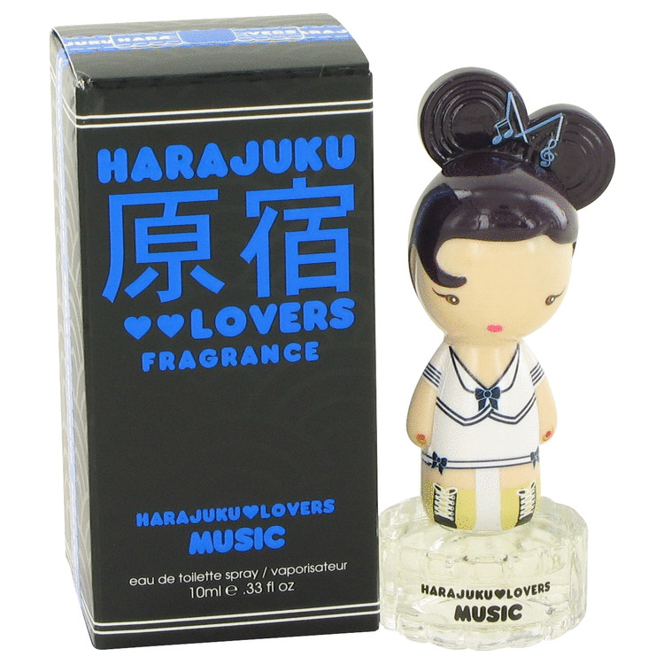 Harajuku Lovers Music by Gwen Stefani for Women Eau De Toilette Spray .33 oz
