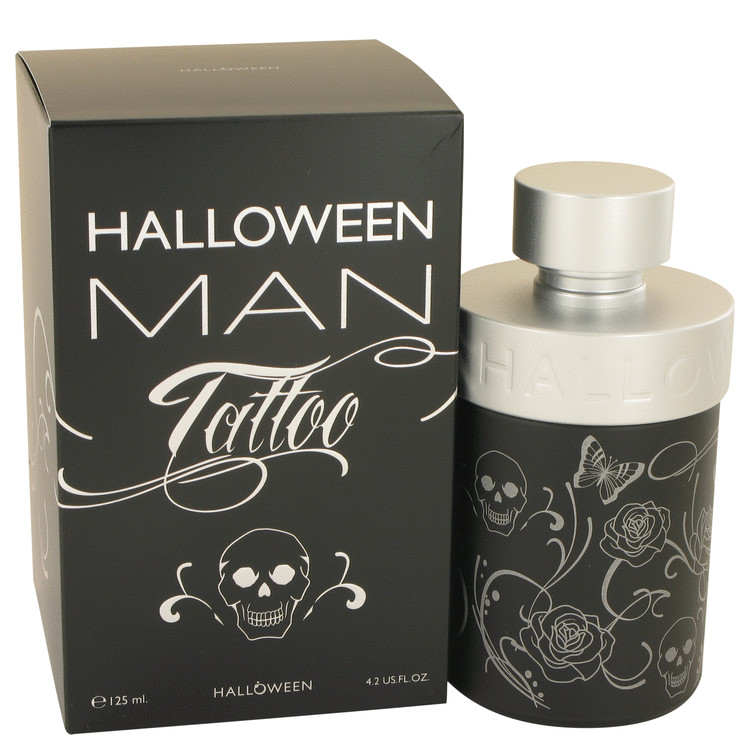 Halloween Man Tattoo Cologne by Jesus Del Pozo 125 ml EDT Spay for Men