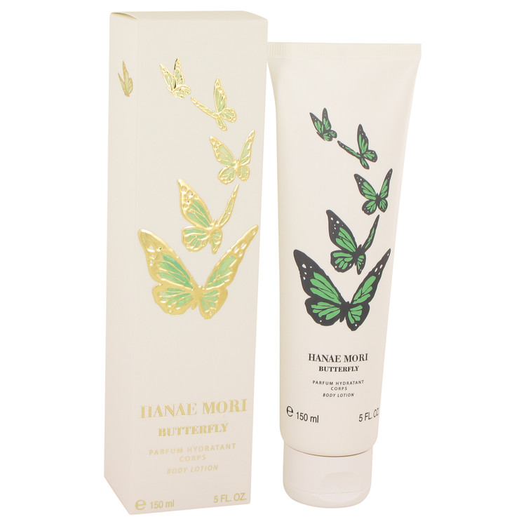 HANAE MORI by Hanae Mori for Women Body Lotion (Green Butterfly) 5 oz