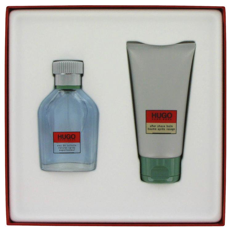 Hugo Gift Set -- Gift Set - 1.3 oz Eau De Toilette Spray + 2.5 oz After Shave Balm for Men