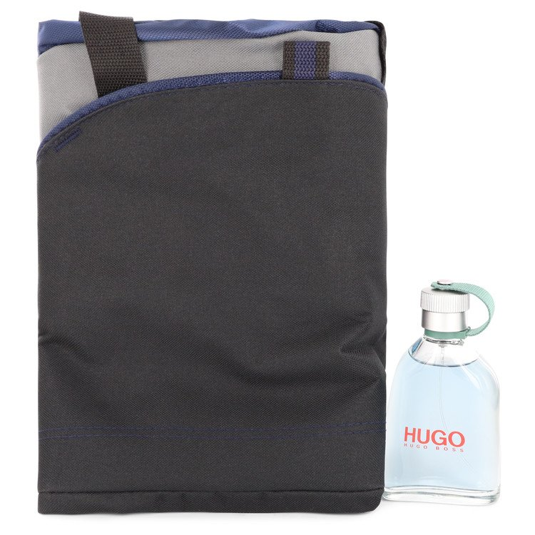 Hugo Gift Set -- Gift Set - 4.2 oz  Eau De Toilette Spray + Duffel Bag for Men
