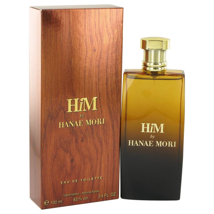 Hanae Mori Him Cologne by Hanae Mori 3.4 oz EDT Spay for Men