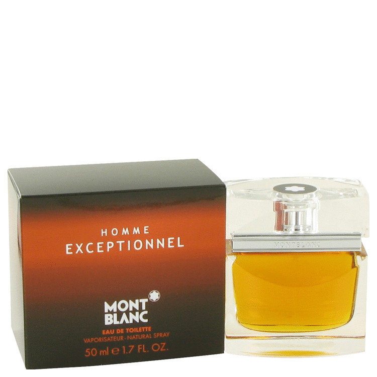 Homme Exceptionnel Cologne by Mont Blanc 50 ml EDT Spay for Men