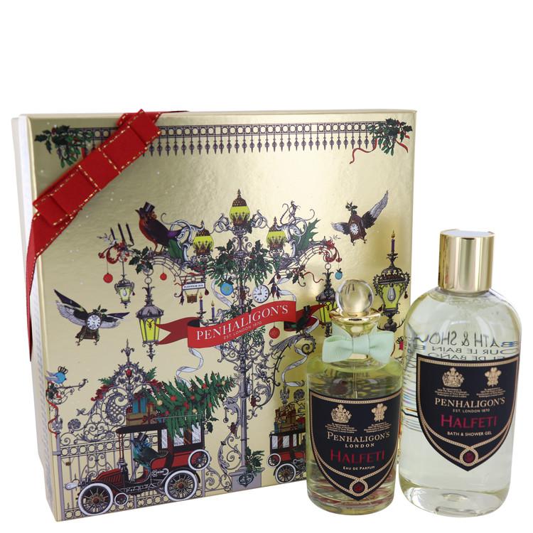Halfeti by Penhaligon\'s for Women Gift Set -- 3.4 oz Eau De Parfum Spray + 10.1 oz Shower Gel
