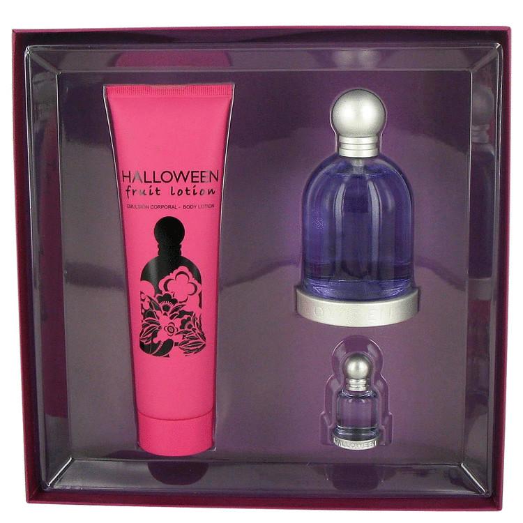 Halloween Gift Set -- Gift Set - 3.4 oz Eau De Toilette Spray + 5 oz Fruit Body Lotion + .15 oz Mini EDT for Women