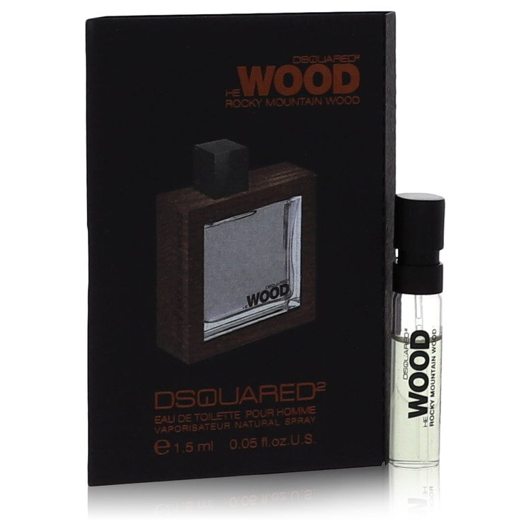 He Wood Rocky Mountain Wood by Dsquared2 Men's Vial (sample) .05 oz