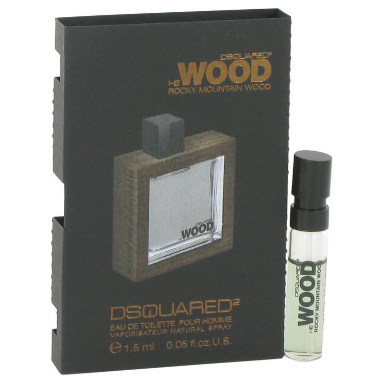 He Wood Rocky Mountain Wood by Dsquared2 for Men Vial (sample) .05 oz