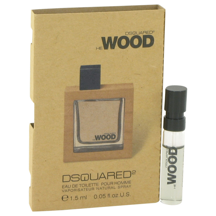 He Wood by Dsquared2 Men's Vial (sample) .05 oz
