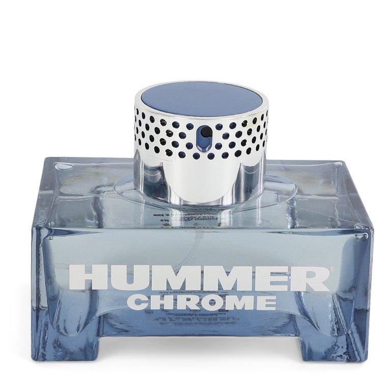 Hummer Chrome by Hummer Men's Eau De Toilette Spray (unboxed) 4.2 oz