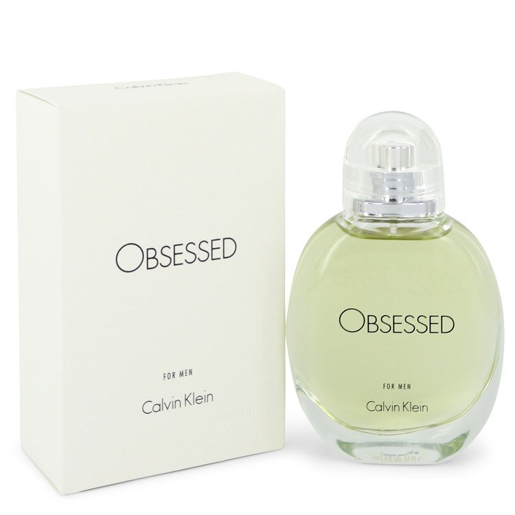 Obsessed by Calvin Klein –  Eau De Toilette Spray 2.5 oz 75 ml for Men