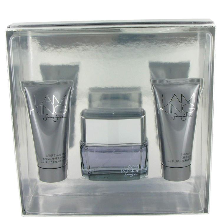 I Am King Gift Set -- Gift Set - 1.7 oz Eau De Toilette Spray + 2 oz After Shave Balm + 2 oz Shower Gel for Men