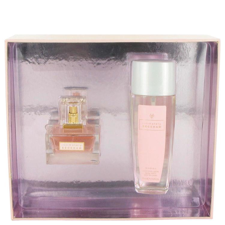 Intimately Beckham Gift Set -- Gift Set - 1.7 oz Eau De Toilette Spray + 2.5 oz Satin Body Spray for Women