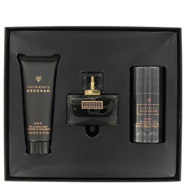Intimately Beckham for Men, Gift Set (2.5 oz EDT Spray + 2.5 oz Hair & Body Wash + 2.5 oz Deodorant Stick)