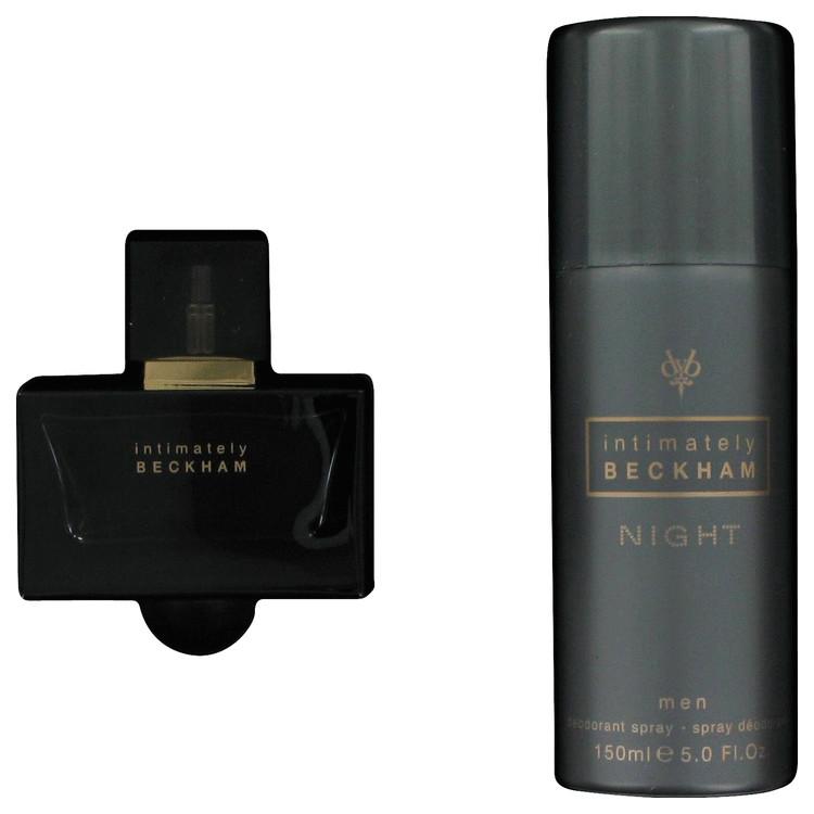 Intimately Beckham Night for Men, Gift Set (2.5 oz EDT Spray + 5 oz Deodorant Spray)