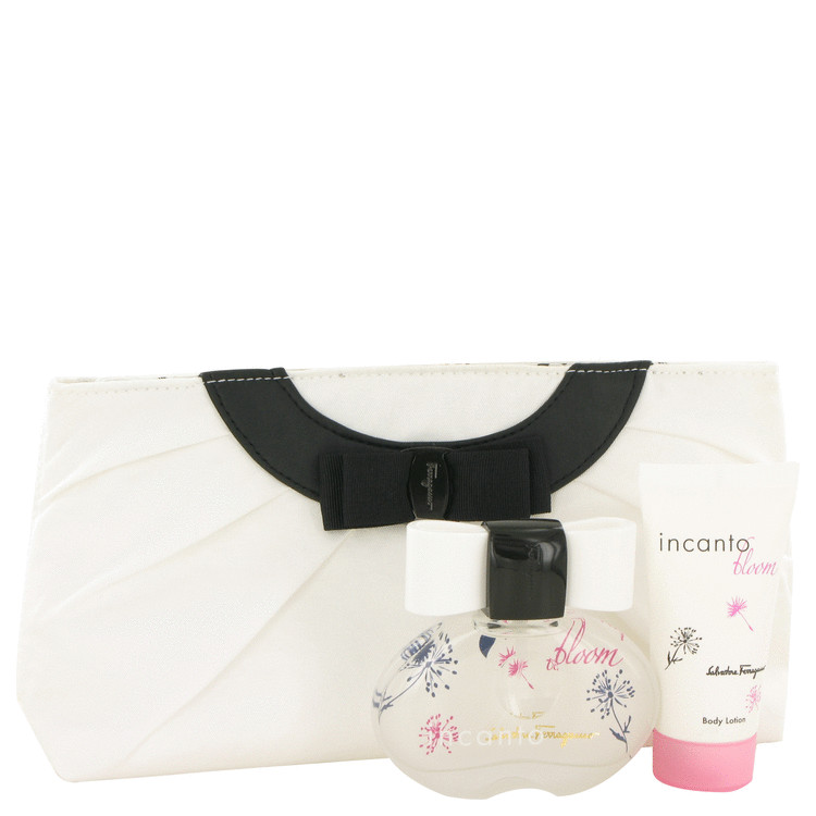 Incanto Bloom Gift Set -- Gift Set - 1.7 oz Eau De Toilette Spray + 1.7 oz Body Lotion + Toiletry Bag for Women