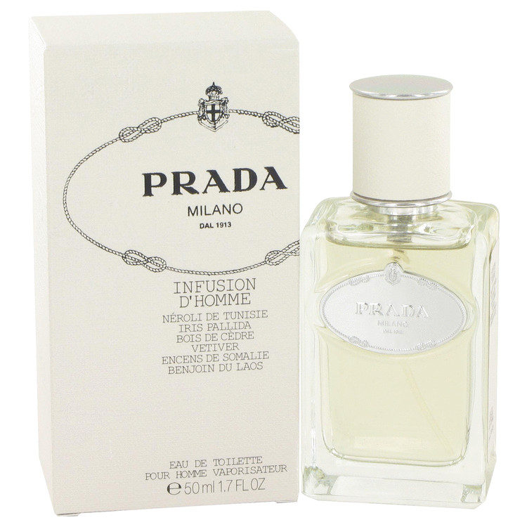 Infusion D'homme Cologne by Prada 1.7  oz EDT Spay for Men