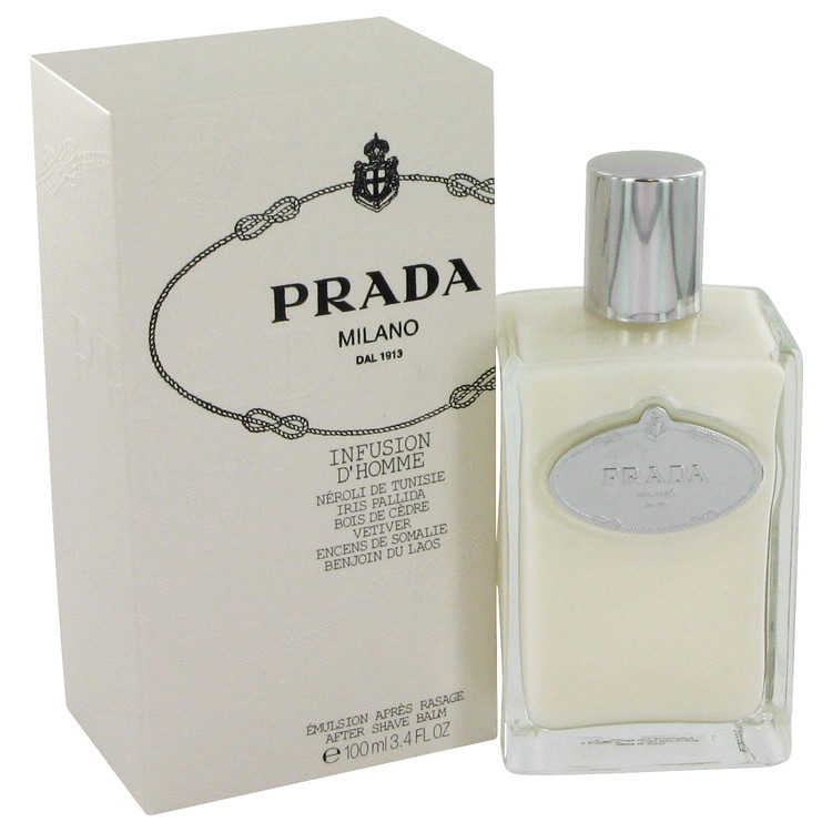 Infusion d'Homme by Prada for Men After Shave Balm 3.4 oz