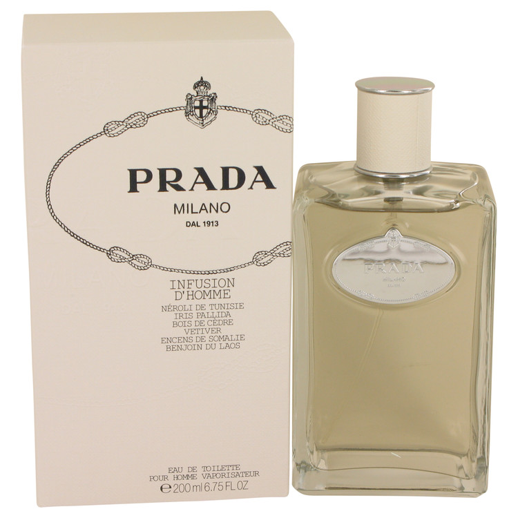 Infusion D'homme Cologne by Prada 6.7 oz EDT Spray for Men