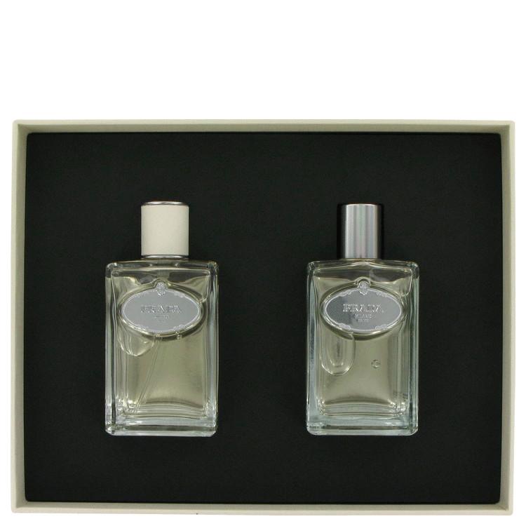 Infusion D'homme for Men, Gift Set (3.4 oz EDT Spray + 3.4 oz After Shave)