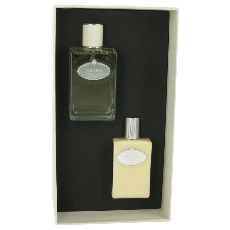 Infusion D'homme Gift Set -- Gift Set - 3.4 oz Eau De Toilette Spray + 3.4 oz After Shave Balm for Men