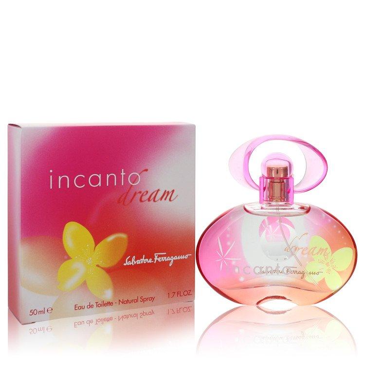 Incanto Dream by Salvatore Ferragamo –  Eau De Toilette Spray 1.7 oz 50 ml for Women