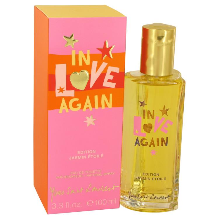 In Love Again by Yves Saint Laurent for Women Edition Jasmin Etole Eau De Toilette Spray 3.4 oz