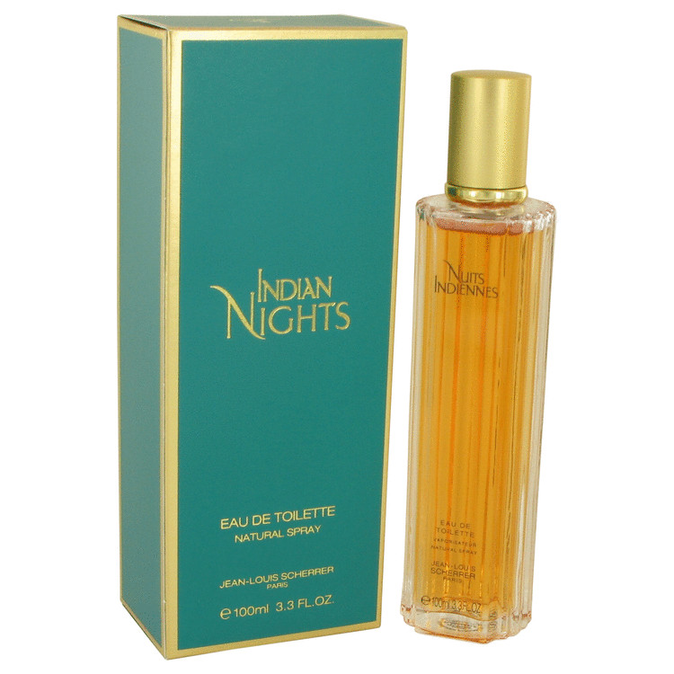 INDIAN NIGHTS by Jean Louis Scherrer for Women Eau De Toilette Spray 3.3 oz